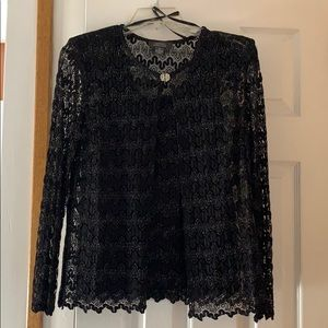 Lace Tank Top with Jacket! NWT Size 10
